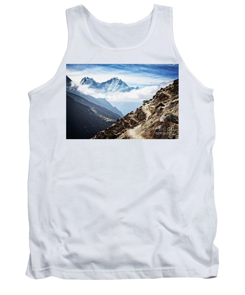 High In The Himalayas Tank Top