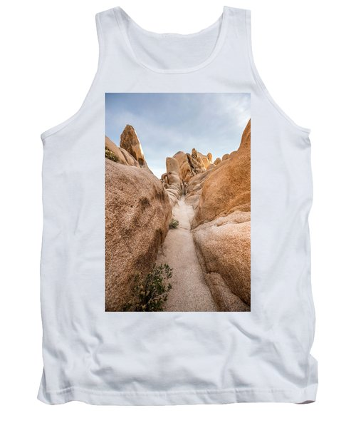 Hiking Trail In Joshua Tree National Park Tank Top by Joe Belanger