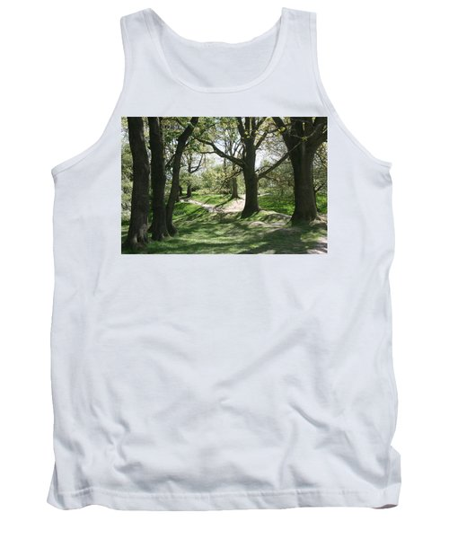 Hill 60 Cratered Landscape Tank Top