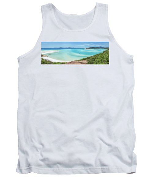 Tank Top featuring the photograph Hill Inlet Lookout by Az Jackson