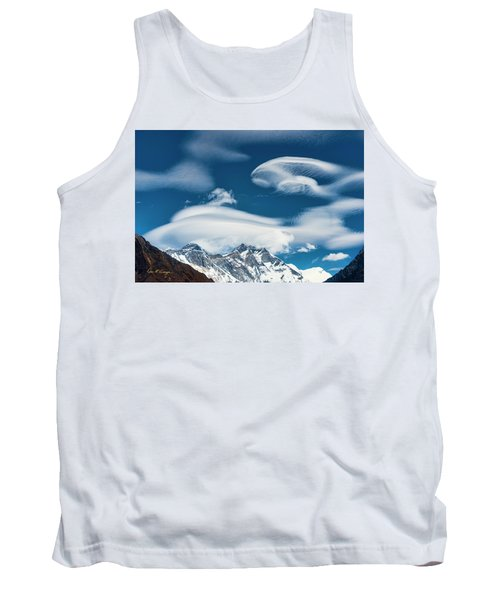 Tank Top featuring the photograph Himalayan Sky by Dan McGeorge
