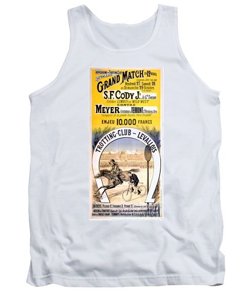 Hippodrome Du Trotting Club Levallois Tank Top