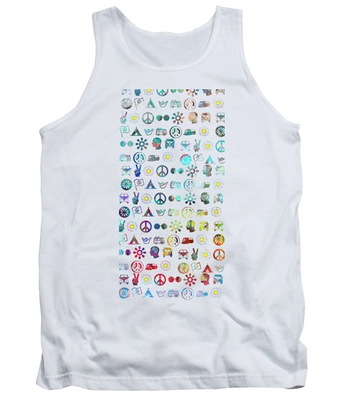 Hippy Chick Phone Case Tank Top