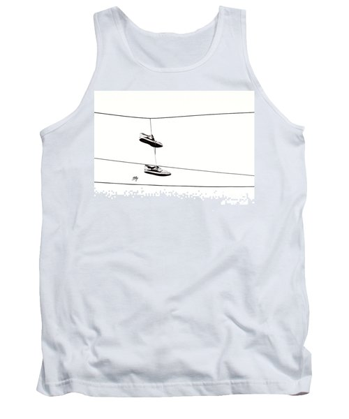 Tank Top featuring the photograph His by Linda Hollis