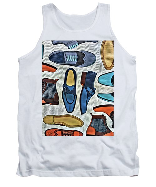 His Shoes Tank Top