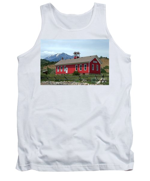 Historic Maysville School In Colorado Tank Top by Catherine Sherman