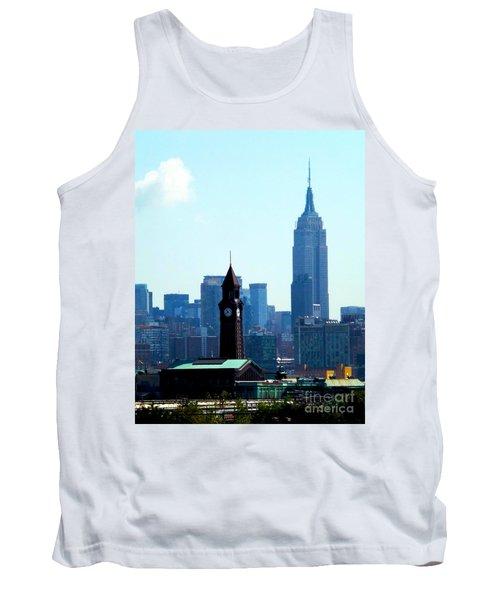 Hoboken And New York Tank Top