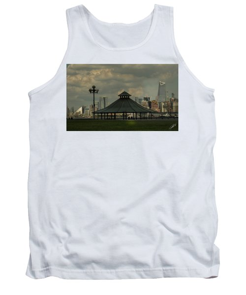 Hoboken, Nj -pier A Park Gazebo Tank Top