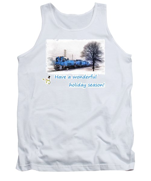 Holiday Train Tank Top