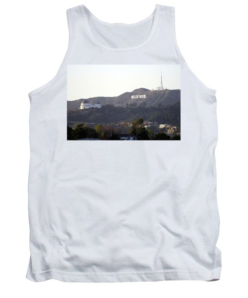 Hollywood Hills And Griffith Observatory Tank Top