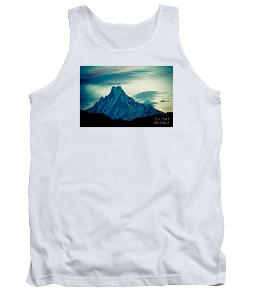 Holy Mount Fish Tail Machhapuchare 6998m Tank Top