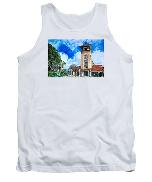 Tank Top featuring the painting Holy Trinity by Lance Gebhardt