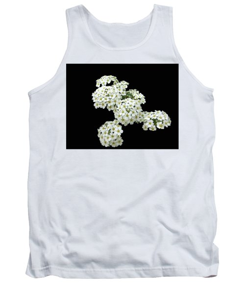 Home Grown White Flowers  Tank Top