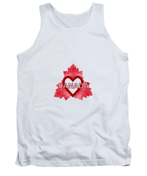 Home Sweet Canada Tank Top by Kathleen Sartoris