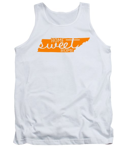 Tank Top featuring the digital art Home Sweet Home Tennessee by Heather Applegate
