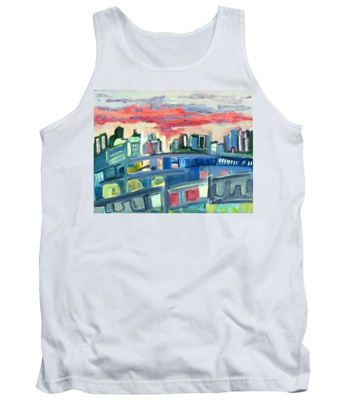Home To The Softer Side Of City Tank Top
