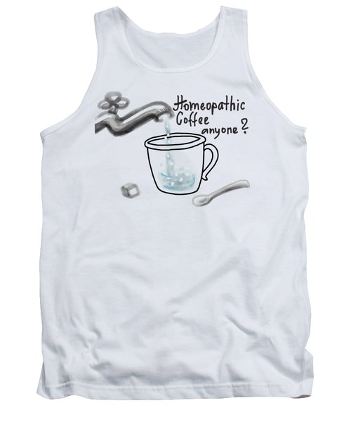 Homeopathic Coffee Tank Top