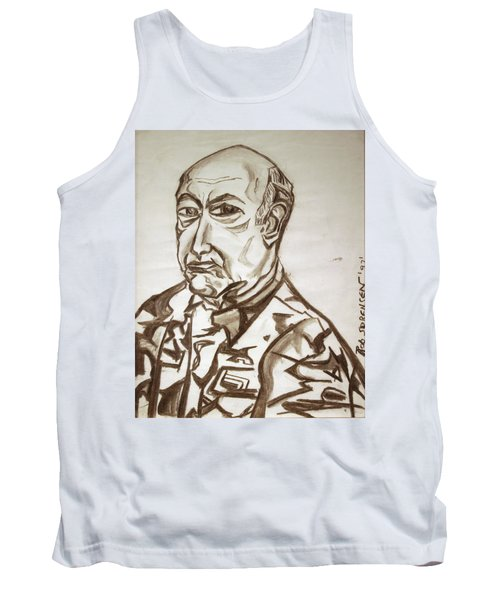 Homme Militaire Tank Top