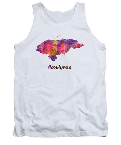 Honduras  In Watercolor Tank Top