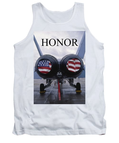 Honor The Flag Tank Top