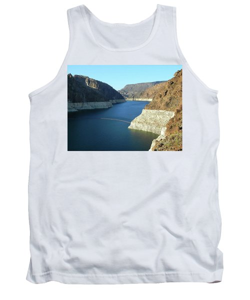 Tank Top featuring the photograph Hoover Dam In May by Emmy Marie Vickers