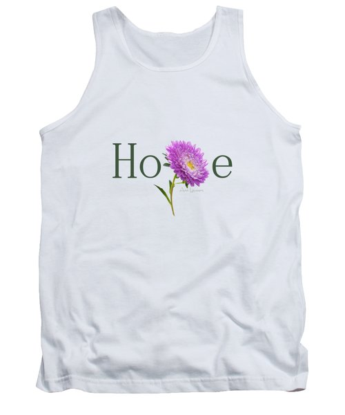 Tank Top featuring the digital art Hope Shirt by Ann Lauwers
