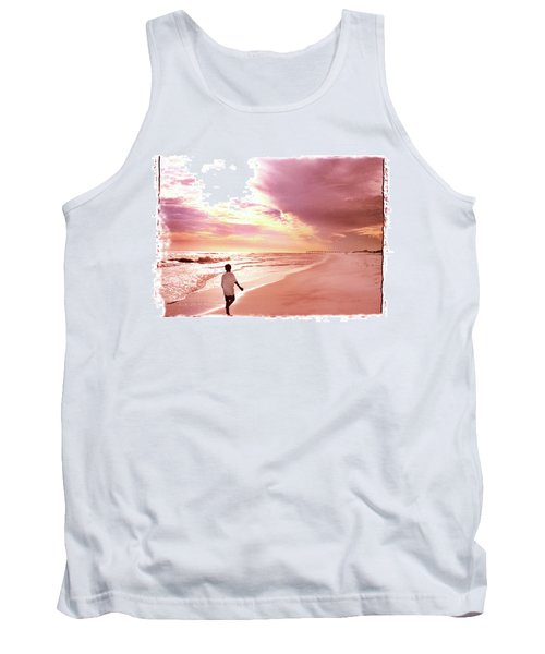 Tank Top featuring the photograph Hope's Horizon by Marie Hicks