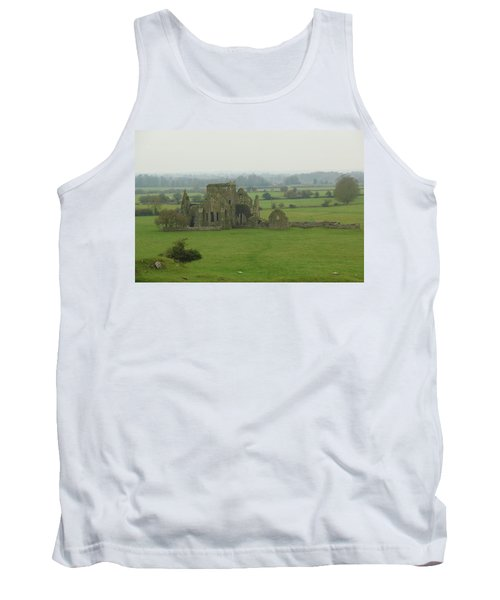 Tank Top featuring the photograph Hore Abbey by Marie Leslie