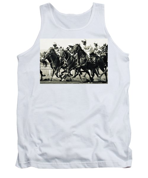 Horse Competition Vi - Horse Race Tank Top