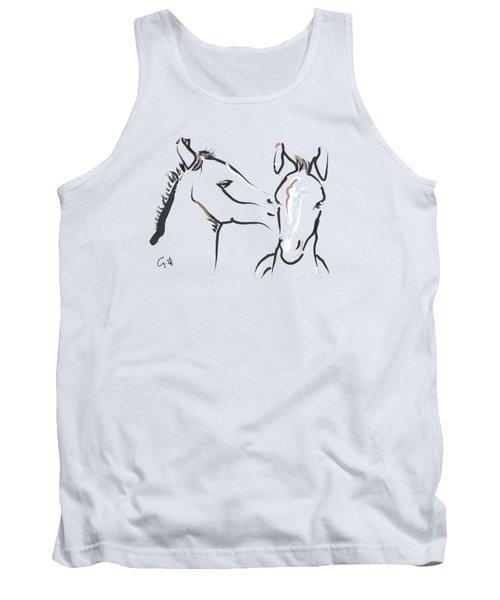 Horse-foals-together 6 Tank Top