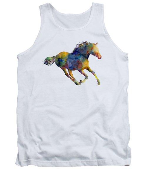 Horse Running Tank Top