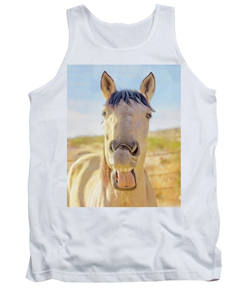 Horse Talk #2  Tank Top