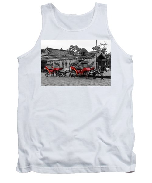Horses And Carriages Tank Top