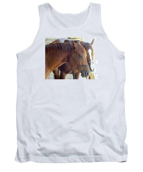 Horses  Tank Top