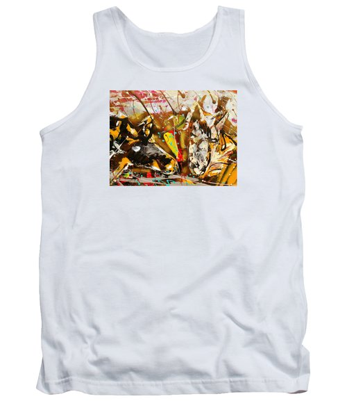 Spirit Of The Horses A Tank Top