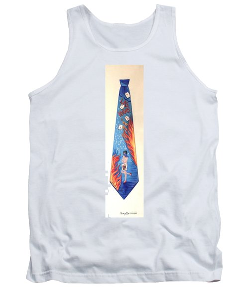 Hot In Vegas Tank Top by Tracy Dennison