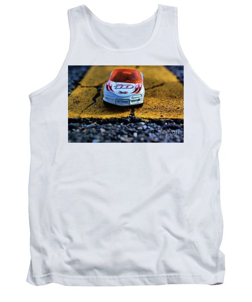 Hot Wheels For The Kid In All Of Us Tank Top