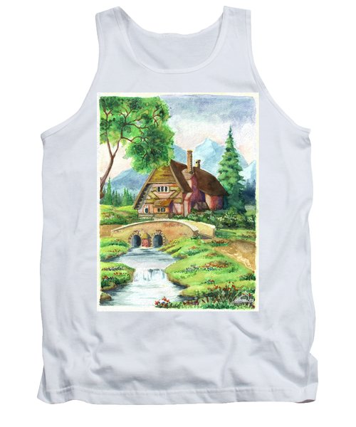 House Along The River Tank Top