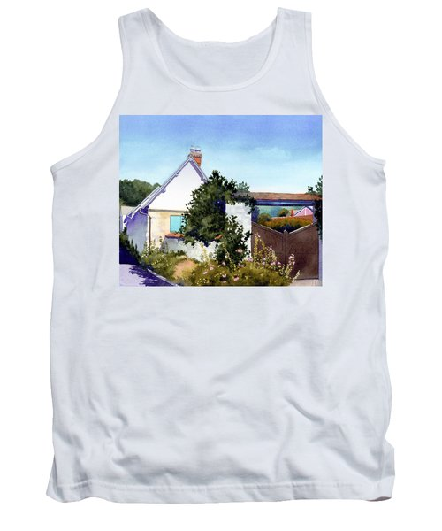 House At Giverny Tank Top