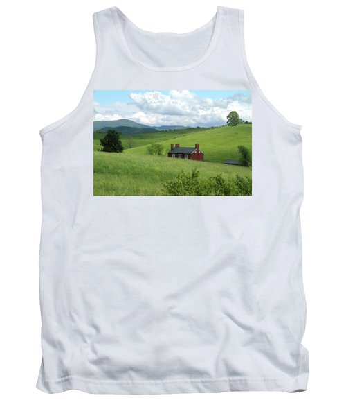 House In The Hills Tank Top by Emanuel Tanjala