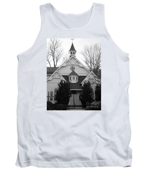 Tank Top featuring the photograph House Of Prayer by Emmy Marie Vickers