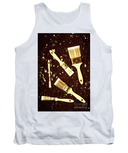 House Paint Abstract Tank Top
