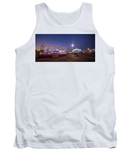 Houston Texas Live Stock Show And Rodeo #12 Tank Top by Micah Goff