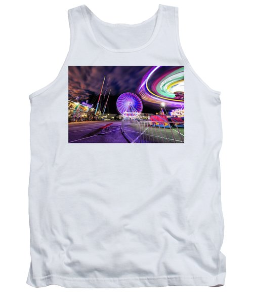 Houston Texas Live Stock Show And Rodeo #6 Tank Top by Micah Goff