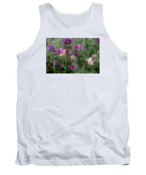 How I Love Flowers Tank Top
