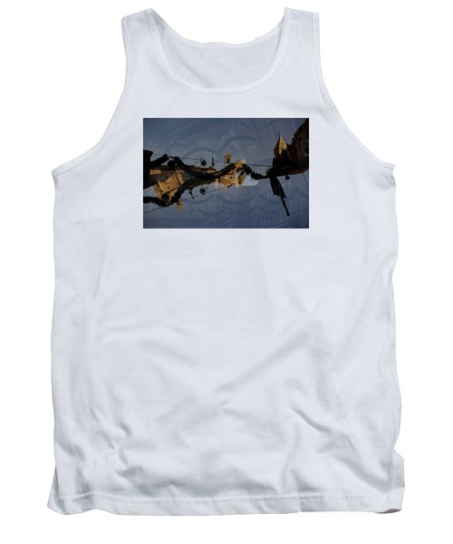 Tank Top featuring the photograph How Is It That You Forget? by Danica Radman
