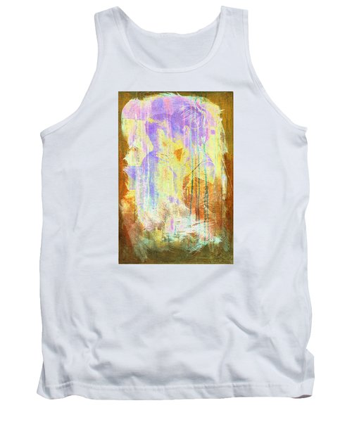 Tank Top featuring the digital art Hugging Canvas by Andrea Barbieri