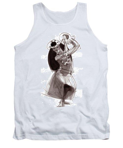 Hula Dancer Alika Tank Top