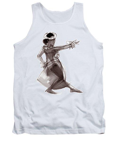 Hula Dancer Keala Tank Top