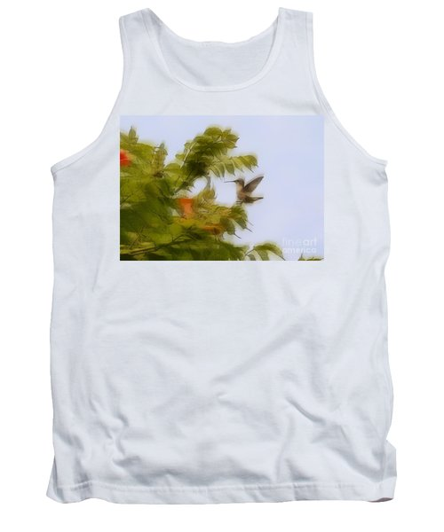 Tank Top featuring the photograph Humbird by Robert Pearson